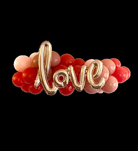Valentine's Day Love Balloon Cloud
