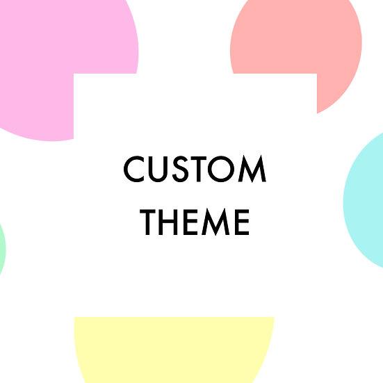 Custom Theme Box