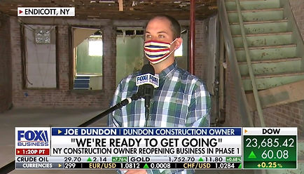 "Joe Dundon Jr. on Fox Business' ""After The Bell"""