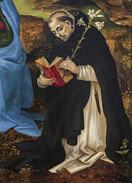 St. Dominic Reading the Scriptures