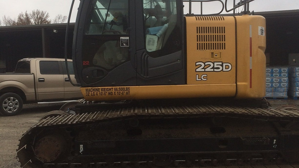 2012 John Deere 225D LC High Rail Excavator (  Only 3100 Hrs )