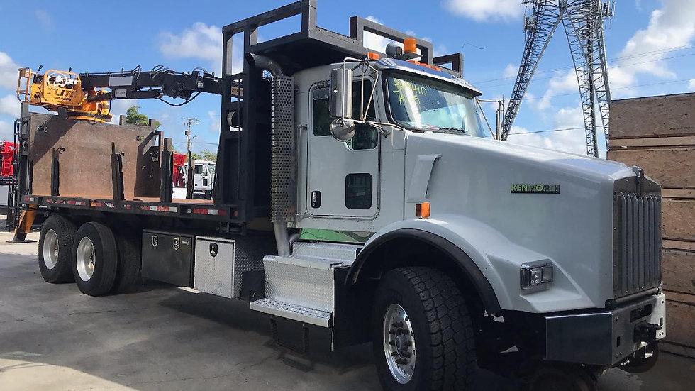 2013 Kenworth T800 Hi Rail Material Truck
