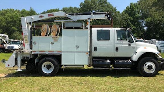 08 International 7300 Gang Truck ( Norfolk Southern