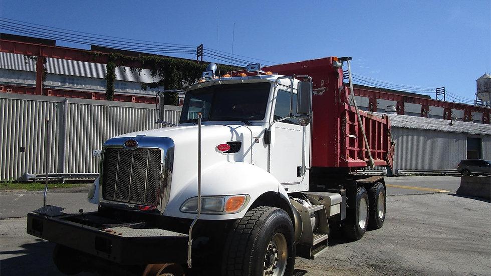 2008 Peterbuilt 340 Hi Rail rotary Dump Truck for Sale or Rent