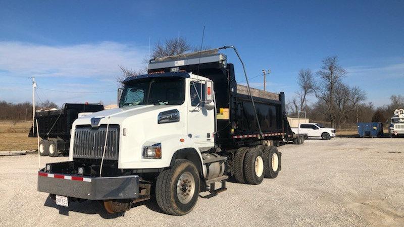 2016 Western Star 4700 6x4 Hi rail Rotary Dump Truck