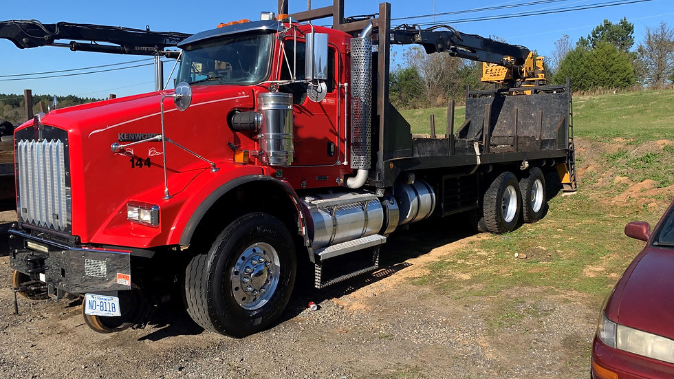 2015 Kenworth T800 High Rail Material Truck Magnet And Genset