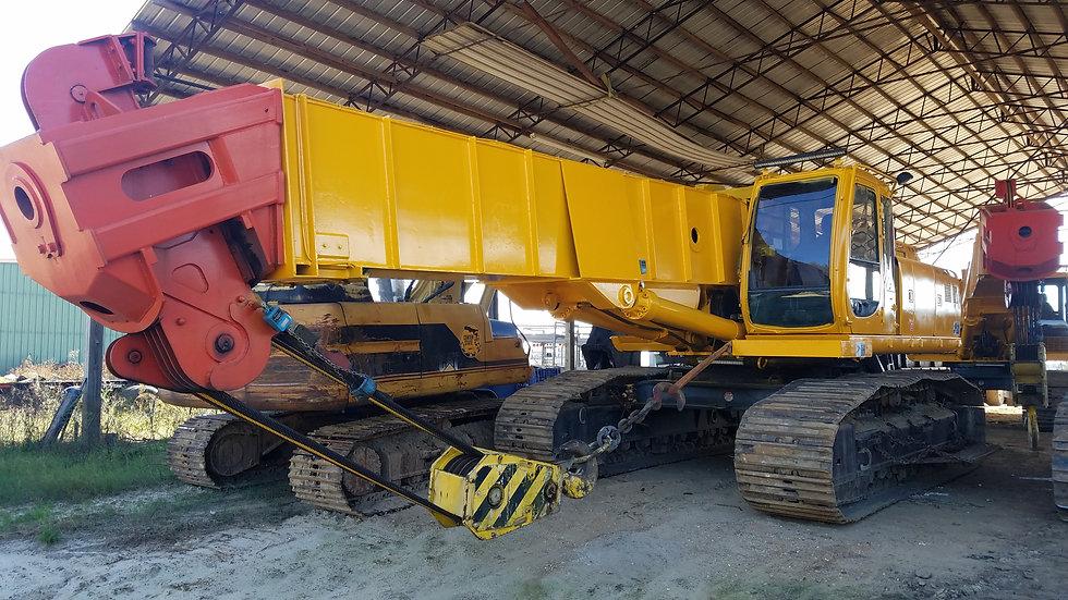 (2) Deere 450 Derailment Cranes