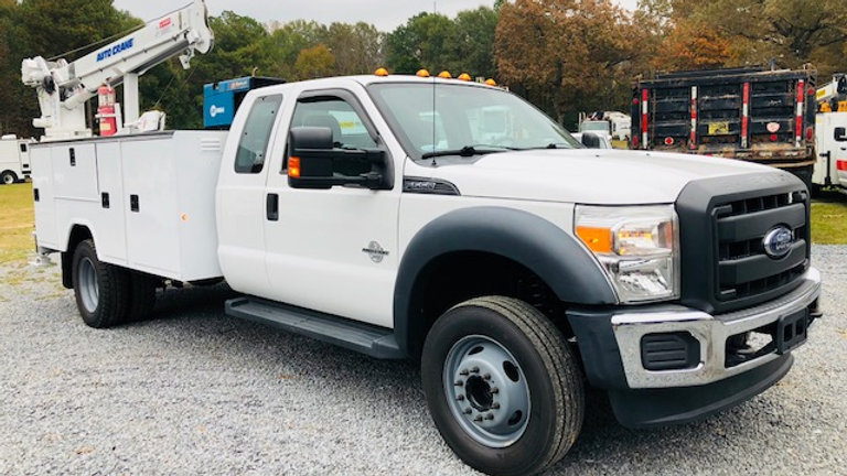 2014 Ford F550 Extended Cab Service Truck Super Duty
