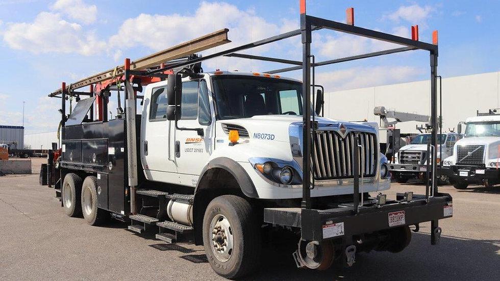 2013 International 7500 Knuckle Gang Truck