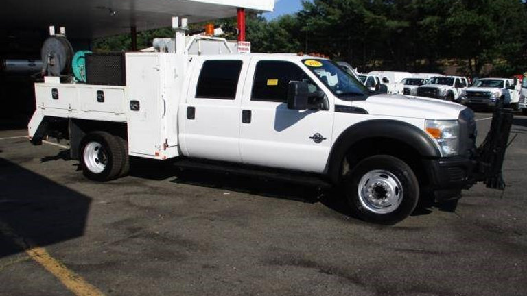 2013 Ford F550 Crew Cab Service Welding Truck