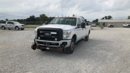 2016 Ford F350 Crew Cab Super Duty Hi Rail