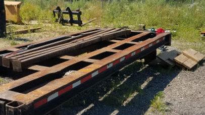 18' x 6' /  88,000 LBS Railroad Tie Cart