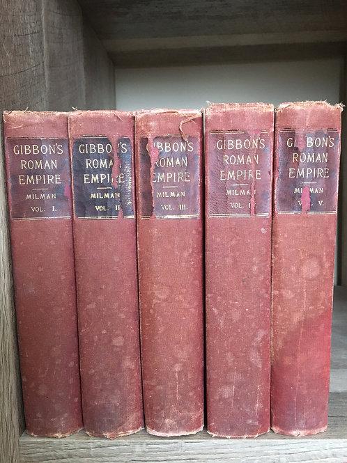 GIBBON'S ROMAN EMPIRE, MILMAN