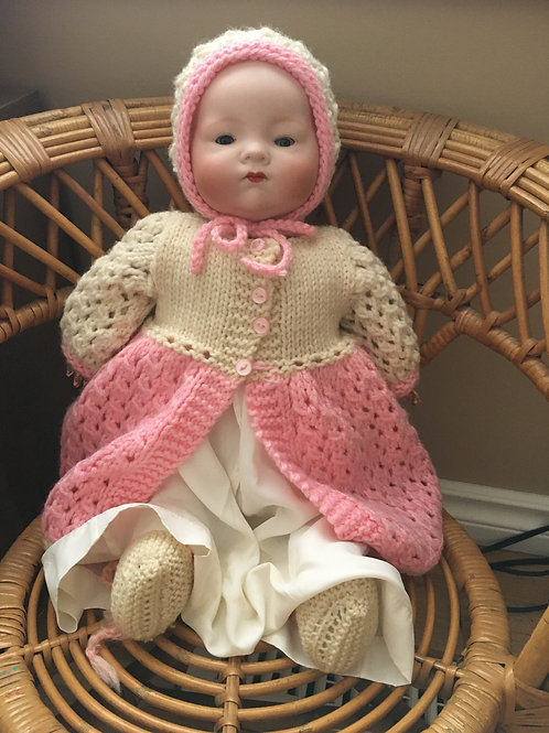 ANTIQUE China Baby Doll