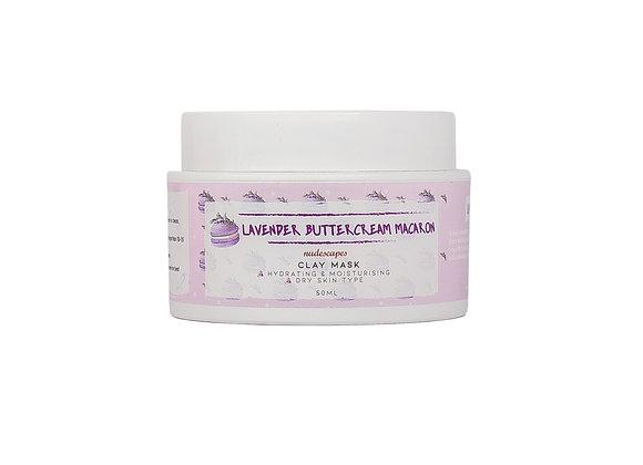Lavender Buttercream Macaron Clay Mask