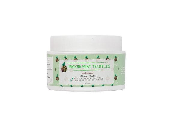 Matcha Mint Truffles Clay Mask
