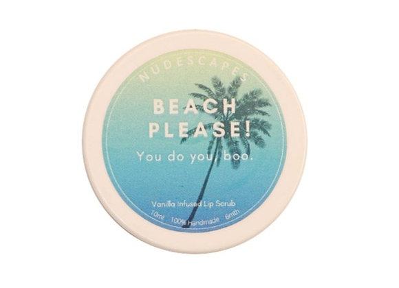 Beach Please Lip Scrub