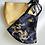 Thumbnail: Satin Mask Pair - Gold (Set of two masks)