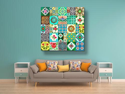 Peranakan Tiles Collage