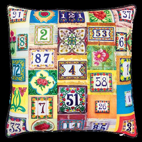 Peranakan Postman Cushion Cover