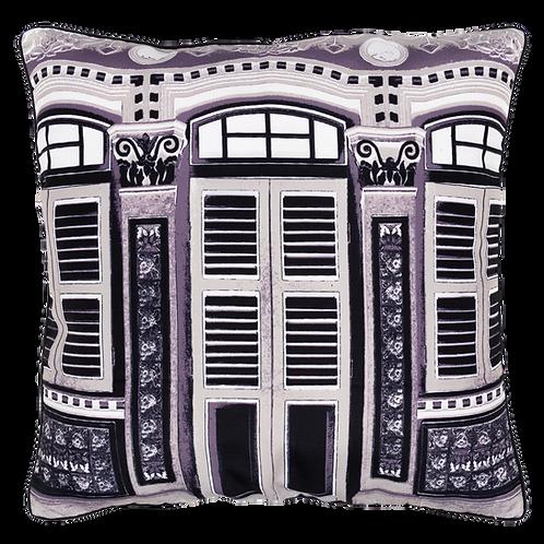 Black & White Nyonya Cushion Cover