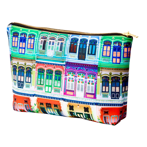 Rowhouses Design Pouch