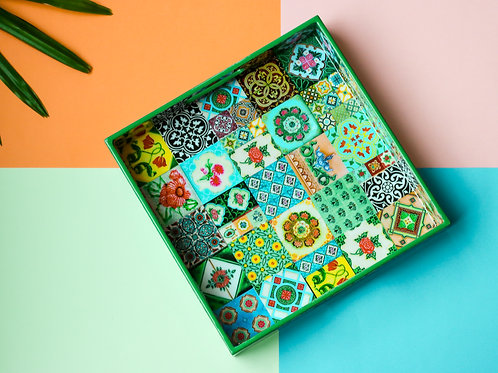 Peranakan Tiles Design Tray