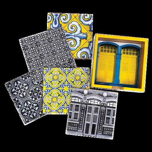 The Peranakan Sayang Collection (Set of 6 Coasters)