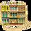 Thumbnail: Colonial Windows Box Clutch