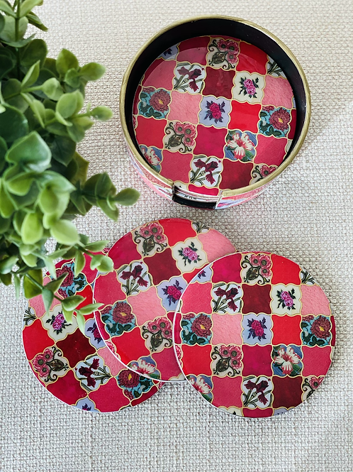 The Scarlet Meraki Coasters