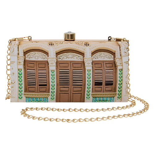 Peranakan Charm Rectangular Clutch