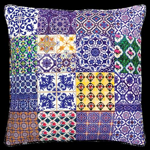 Blue Straits Cushion Cover