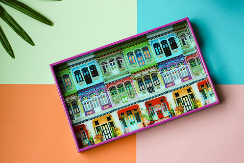 Rowhouses Design Tray