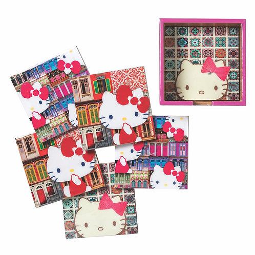 Hello Kitty x Photo Phactory Set of 6 Coasters