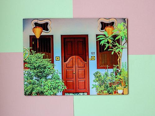 Indigo Emerald Hill Door Placemat (Single Placemat)