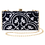 Thumbnail: Black & White Nyonya Clutch Bag