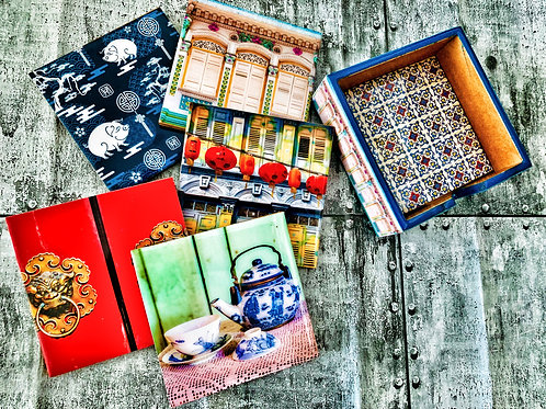 The Chinese Tai Tai Collection(Set of 6 Coasters)
