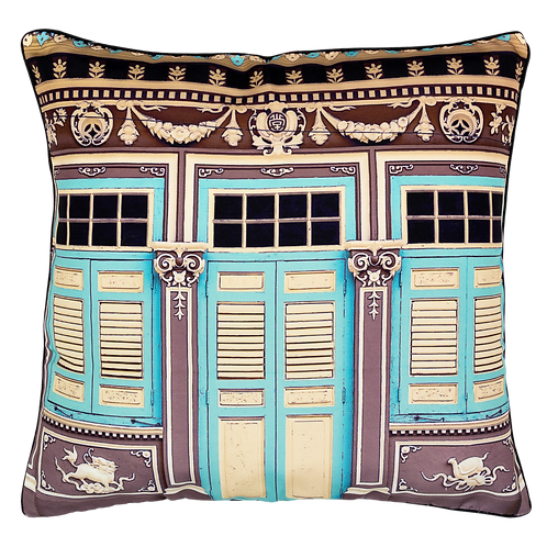 Traditional Artistry Cushion Cover