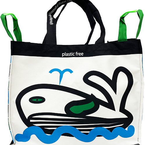 beach bag クジラくん