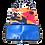 Thumbnail: eco bag カモフラージュ&変形ボーダー