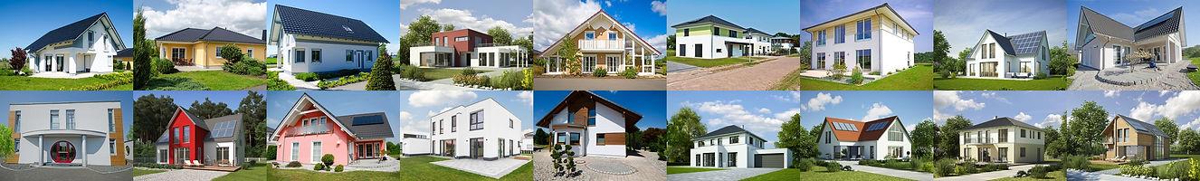 Fertig.- Massivhäuser von Hausbau Berater Team