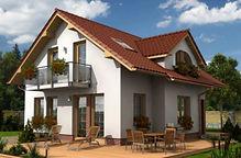 EFH Perla 114 - Hausbau Berater Team Fertig.- Massivhaus Anbieter