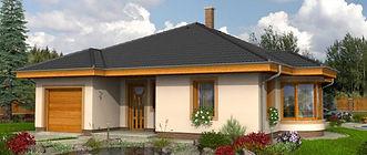 Bungalow CRB 112 - Hausbau Berater Team Fertig.- Massivhaus Anbieter