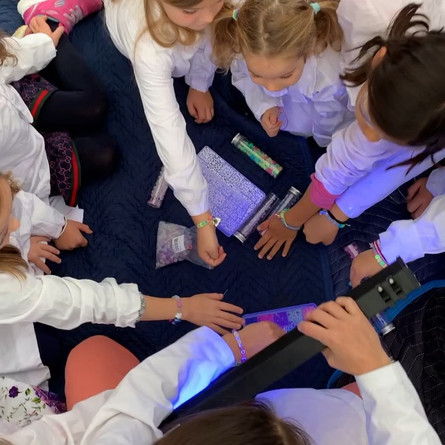 Experiment Option: UV Bracelets!