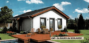 Bungalow CRB 62 - Hausbau Berater Team Fertig.- Massivhaus Anbieter
