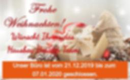 Frohe Weihnachten von Hausbau Berater Team