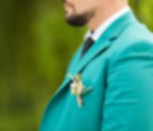 costume mariage vert 2019