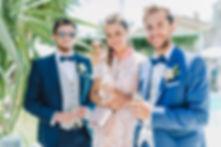 costume de marié bleu 2019