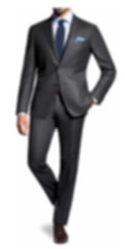 Costume gris anthracite deux pièces By Monsieur