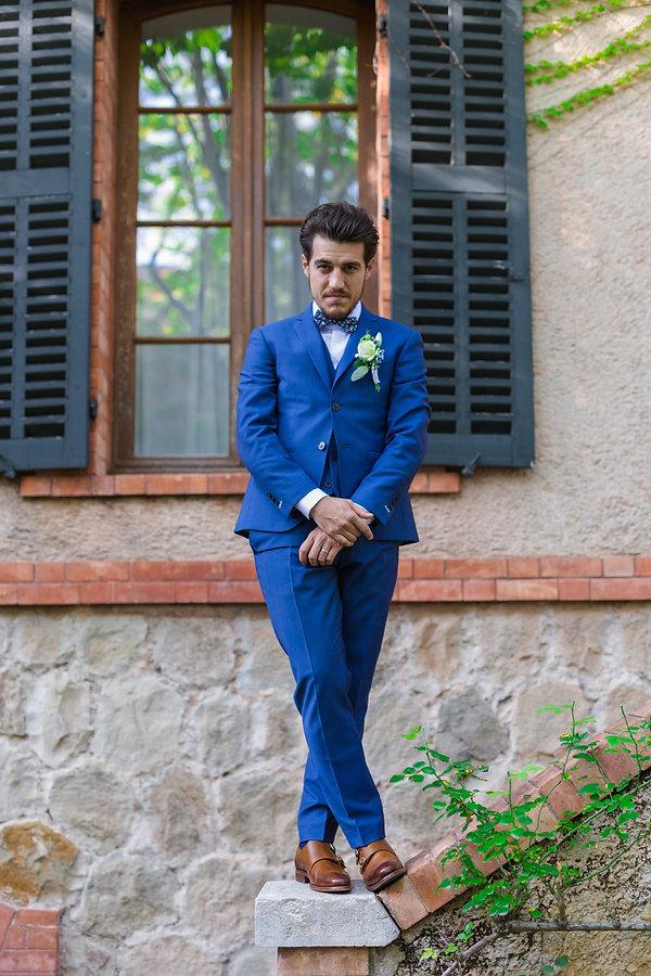 costume bleu toulon